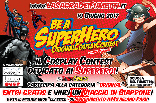 Be a Superhero Cosplay Contest