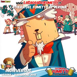 Indieversus è una community interattiva dedicata al fumetto indipendente.  Appoggiandosi al suo sito web 31483026317
