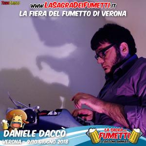 Daniele Daccò è un personaggio che si può predicare di molte definizioni. È  uno sceneggiatore e scrittore 8c27c737f93